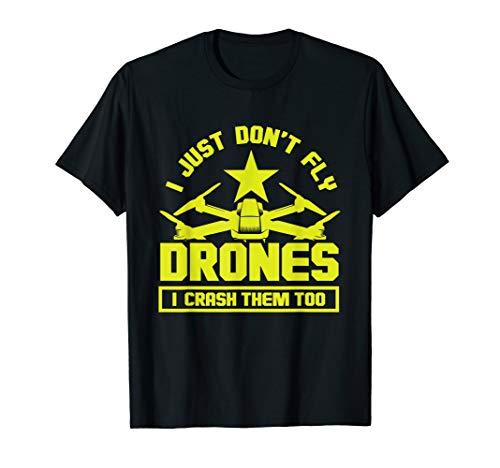 Cooles Drohnen-Pilot Shirt   Geschenk Quadrocopter Mann Kind