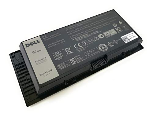 Brand New Dell Original 9 Cell Precision M4800 M6800 Battery P/N 4HJXX FJJ4W ...