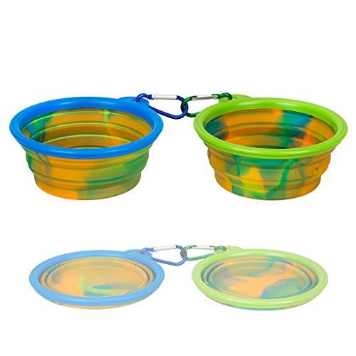 IDEGG Collapsible Silicone Dog Bowl