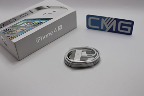 Cable cargador USB para iPhone 4S 4 G 3GS y iPod 1 m