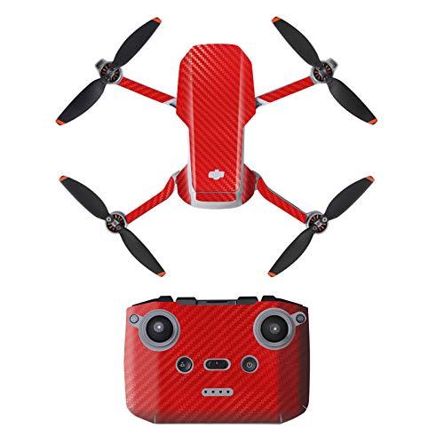 DJFEI Mavic Mini 2 Skin Adesivo Decals Set, Mini 2 Drone Decalcomania Impermeabile AntiGraffio di Protezione Guardia Skin Guard per DJI Mavic Mini 2 Drone e Telecomando (H)