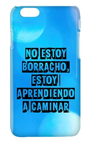 Funda Carcasa Frases Divertidas Alcohol Cerveza Borracho para iPhone 7 Plus 7PLUS plástico rígido