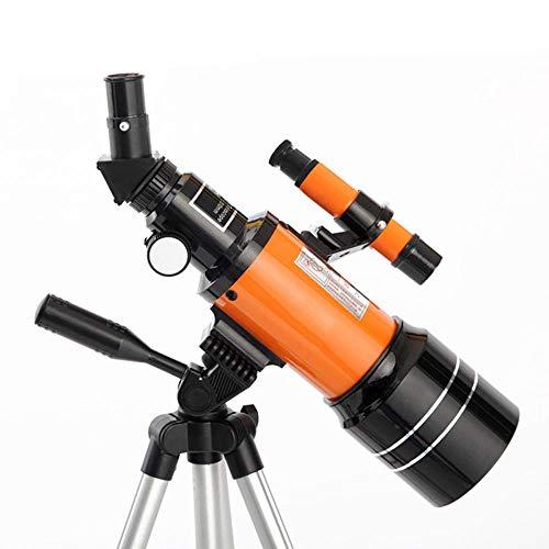 HUNDAN Telescopio astronómico Profesional para Exteriores HD,visión Nocturna,Espacio Profundo, Vista de Estrella, Vista de Luna, telescopio monocular 150X