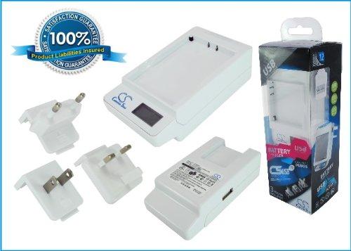 DF-ERX100DH Ladegerät Kompatibel mit [Sony Ericsson] A8, A8i, Aspen, Aspen US, Faith, Playstation Phone, R800a, R800i, R800x, Rachael X3, Xperia Play, Xperia X1, Xperia X10, Xperia X10a, Xperia X10i,