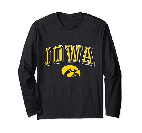 University of Iowa Hawkeyes NCAA Women's Long Sleeve SC02ui