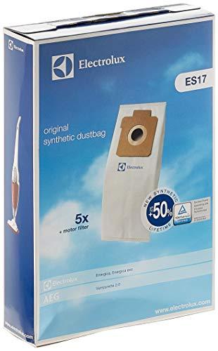 Electrolux ES17 s-Kit n°5 Sacchetti e n°1 Filtro Motore per Aspirapolvere Energica con Sacco