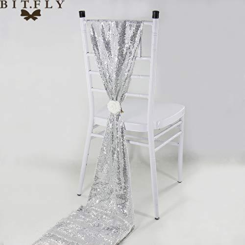 Gouden pailletten lovertjes kwastje kleur tafel 30x275cm vlagdrager tafel rose goud / / goud stijl champagne zilver/luxe bruiloft van het hotel decoratie etentje,30x275cm (12x108in),geld