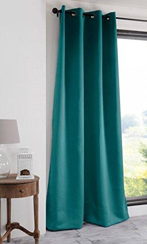 Lovely Casa - Tenda oscurante, 140 x 280 cm, colore: Blu