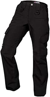 Women's Operator Pant with 8 Pockets and Elastic Waist