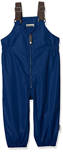 Racoon Baby-Jungen Claes Solid (Wassersäule 3000) Regenhose, Blau (Limoges LIM), 80