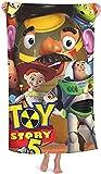 Toalla de playa Toy Story de 90 cm x 180 cm, diseño de dibujos animados