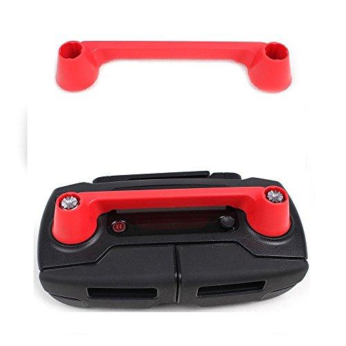 KINGWON Telecomando Controller Joystick del Protector Trasporti Clip per DJI Mavic PRO /DJI Spark Accessori-Red