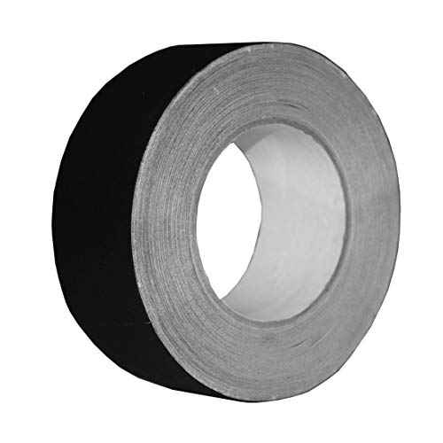 Hylaea Professional Grade Gaffer Tape, 2 Inch X 30 Yards, Residue Free, Black Non Reflective and Easy to Tear Gaff Tape for for pro Photography, Filming Backdrop, Production Equipment