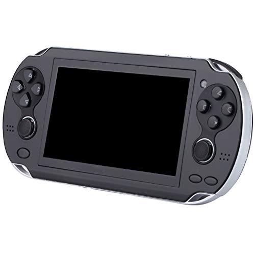 TiKiNi Consola de juegos retro de mano Consola de juegos clásica, pantalla HD de 4,3 pulgadas, 8 GB, consola de videojuegos retro, integrada, 3000 juegos con botones de doble joystick
