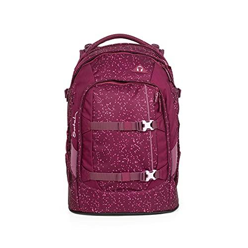 Satch Unisex-Kinder Pack Rucksack für Freizeit und Sport, Rot (Berry Bash), 45x22x30 cm (B x H x T)