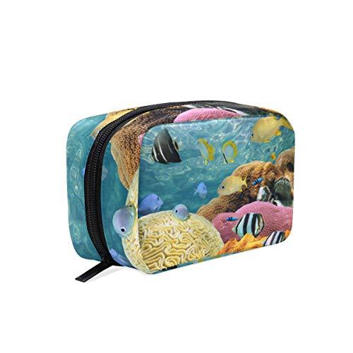Trousse de maquillage Tropical Fish Ocean Sea - Pochette cosmétique