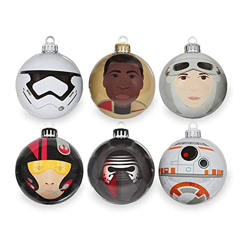 Star Wars Official Force Awakens Bauble Pack (pack of 6)