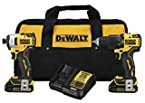 DEWALT DCK279C2 ATOMIC 20V MAX Lithium-Ion Brushless Cordless 1/2 in. Hammer Drill Driver and 1/4 in. Impact Driver Combo Kit