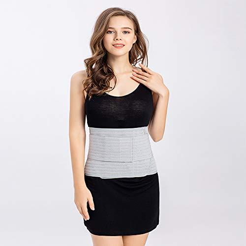 SUISONG Postpartum Belt, Postpartum Postnatal Recovery Maternity Support Belt for Women, Pregnancy Belly Band Waist Trimmer Belt Slimming Body Shaper Belt (M, Grey)