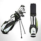 LANGWEI Bolsas De Golf para Hombres, Bolsa De Soporte De Golf con Divisor De 14 Vías | Bolsa De Golf Ultraligera para Campo De Golf con Correas Dobles...