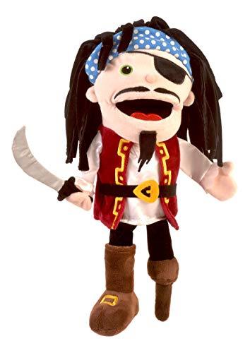 Fiesta Crafts T-2939 Marioneta de mano pirata con boca en movimiento, varios , color/modelo surtido
