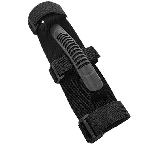 (1 pcs) Scooter Handschlaufe Scooter Schultergurt Roller arbeitssparend tragbar Scooter Tragegurt Verstellbarer Rollerzubehör für arbeitssparend Tragegriff Bandage für Elektroroller Griffe-Schwarz