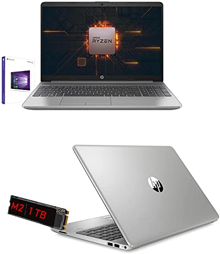 Notebook Hp 255 G8 Amd Ryzen 5 3500U 3.7Ghz Display 15.6  Full Hd,Ram 12Gb Ddr4,Ssd 1Tb Nvme,Hdmi,Wifi,Lan,Bluetooth,Webcam,Windows 10Pro,Antivirus