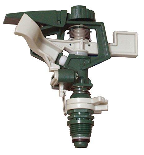 AQUA CONTROL C2085 Aspersor Sectorial, Verde Blanco, 15x6x20 cm