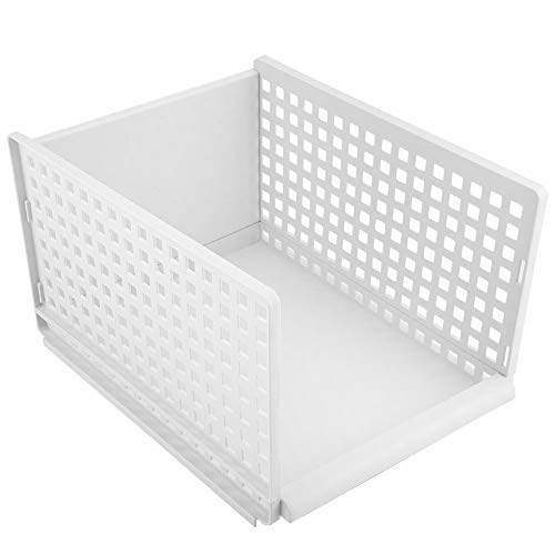 Vobor Lagerregal Faltbare Schublade Typ Tuch Lagerregale Halter Organizer Kleiderschrank Rack Partition Board (Größe : #2(39 * 29.7 * 23cm))