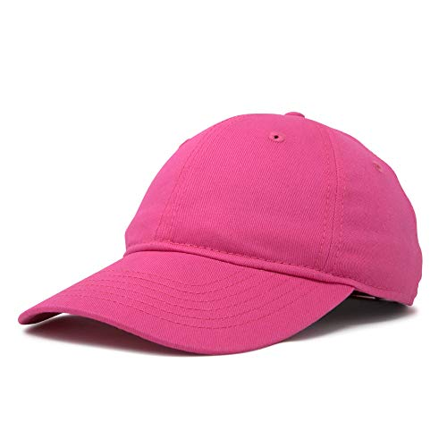DALIX Womens Hat Lightweight 100% Cotton Cap in Hot Pink