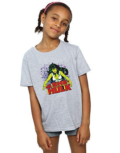 Marvel Universe Niñas The Savage She-Hulk Camiseta