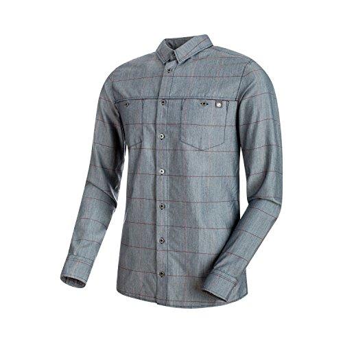 Mammut Alvra Longsleeve Shirt Marine/Magma M