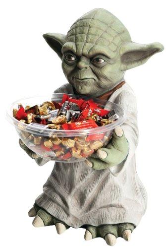 Rubie's Star Wars Bonbonhalter Yoda Party Deko Jedi Figur mit Bonbon Schale
