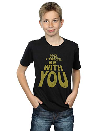 Star Wars niños May The Force Be with You Camiseta