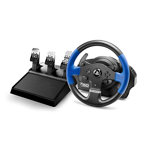 Thrustmaster T150RS PRO - Volante - PS4 / PS3 / PC - Force Feedback - 3 pedales - Licencia...