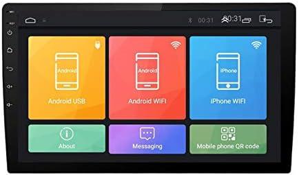TOOGOO 10.1 Pulgadas Android 8.1 Dual 2Din Car Stereo Radio Reproductor Multimedia MP5 con GPS WiFi OBD2 MirrorLink Player con CáMara