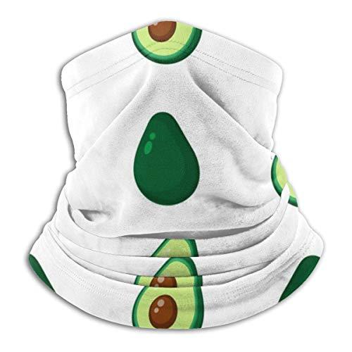 Lzz-Shop Avocado Seamless Repeating Patroon Handgetekende halswarmer - hoofdband sjaal hoofdwikkeling, hals gamasche pijp vissen, gezicht sport sjaal
