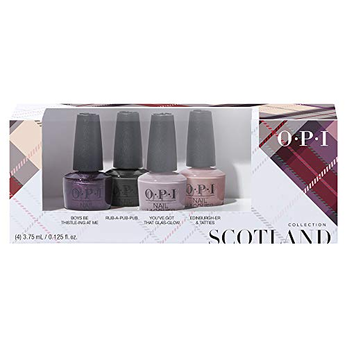 OPI Scotland Collection Mini 4er Set, 1er Pack (4 x 3.75 ml)