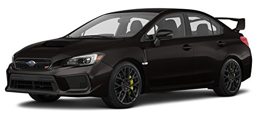 2018 Subaru WRX STI, Manual Transmission, Crystal Black Silica