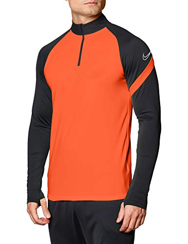 Nike Herren Dri-FIT Academy Pro Shirt, Bright Crimson/Anthracite/White, L