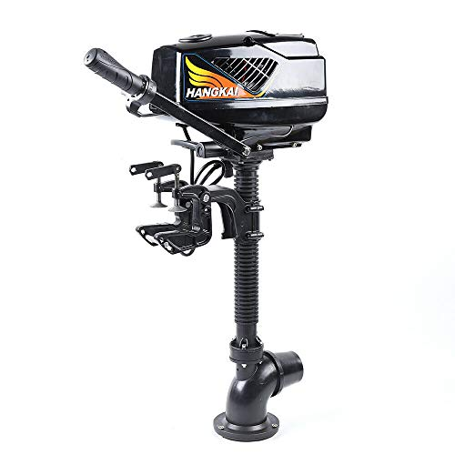 DYRABREST Electric Outboard Motor Kit 4HP 48V Heavy Duty Jet Pump Boat Engine 1000W Freshwater and Saltwater for Fishing Boat
