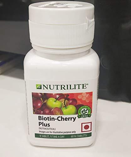 Amway NUTRILITE Biotin Cherry Plus (Old Name - Hair Skin & Nail)