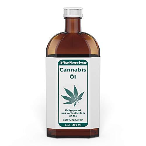 Cannabis Öl 250 ml - kaltgepresst - 100 {261ab1de6d3a935de7fe38203080cad55e7faf62f5bbbaa57235e47ae67e495a} naturrein
