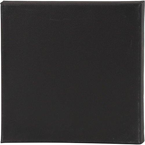 Keilrahmen, Größe 30x30 cm, Tiefe 1,6 cm, schwarz, 10Stck.