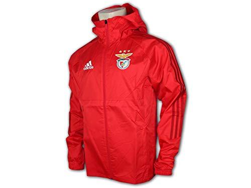 adidas Benfica Lissabon Jacke rot Benfica Storm Jacket SLB Fanartikel Portugal, Größe:XXL
