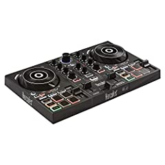 Learn the basics of DJing with the controller's exclusive features: Tempo and Beat Align guides that light up, in addition to the assistant and energy functions Comprehensive DJing software included: discover the basics of DJing with interactive help...