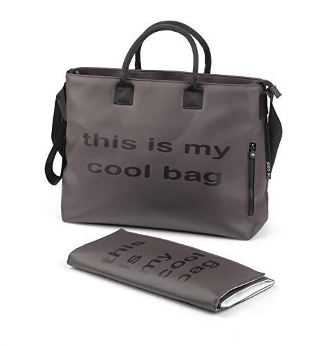 Be Cool Mamma Bag Borsa Fasciatoio con Ancoraggio Universale, Brown