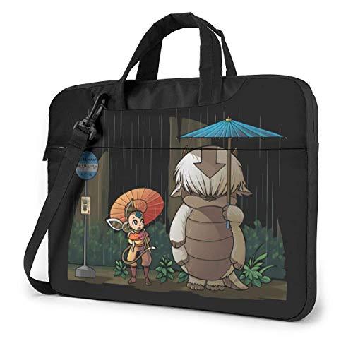 XCNGG Avatar The Last Airbender Appa Anime Laptop Shoulder Messenger Bag Tablet Computer Storage Backpack Handbag 14 inch