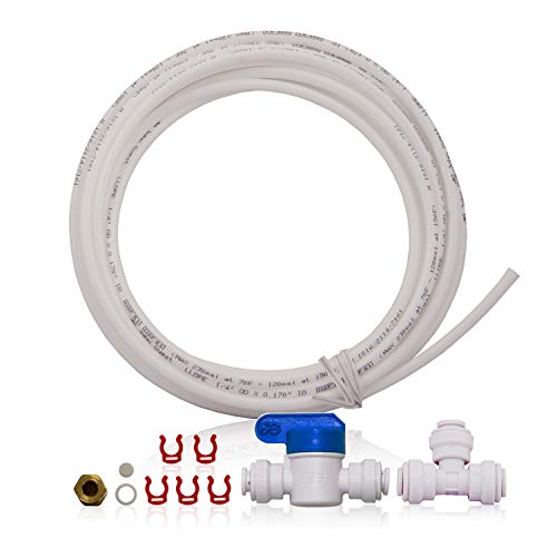 """APEC Water Systems ICEMAKER-KIT-RO-1-4 Ice Maker Installation Kit For Standard 1/4"""" Output Reverse Osmosis Systems, Refrigerator and Water Filters -  ICEMAKER-KIT-1-4-RO"""