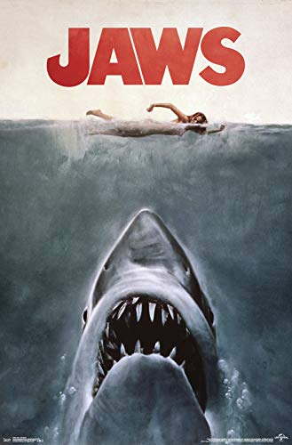 Jaws Official Wall Poster